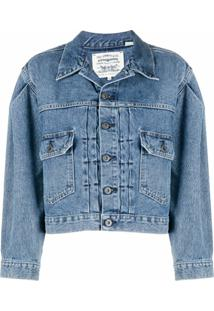 Levi'S: Made & Crafted Jaqueta Jeans Type Ii - Azul