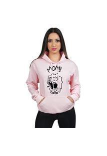 Blusa De Frio Moleton Lisa Lil Peep Simpson Feminino Com Capuz E Bolso Canguru Flanelado Moletom 70% Algodão 30% Poliéster Preço Varias Cores