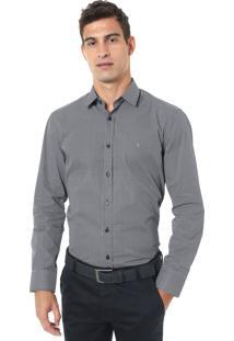 Camisa Aramis Reta Lisa Azul