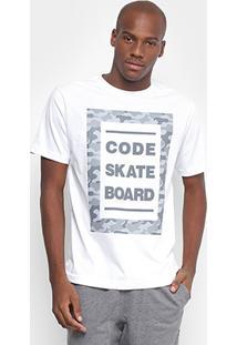 Camiseta Code Sktshirts Camouflage Masculina - Masculino