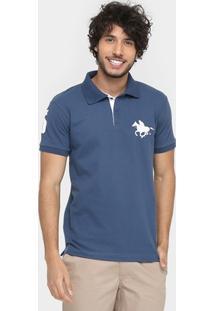 Camisa Polo Rg 518 Piquet Básica Masculina - Masculino