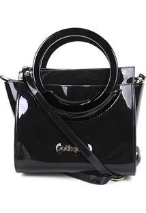 Bolsa Petite Jolie Mini Bag Feminina - Feminino-Preto