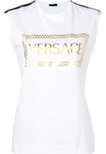 Versace Regata Com Logo - Branco