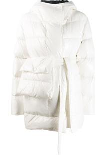 Bacon Hooded Padded Jacket - Branco