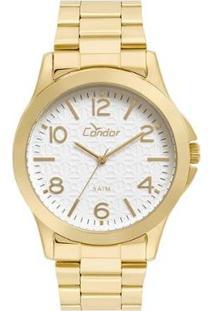 Relógio Condor Feminino Eterna Bracelete Dourado - Co2036Kuh/K4B Co2036Kuh/K4B - Feminino-Dourado
