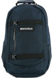 Makavelic Mochila Com Fivela - Azul