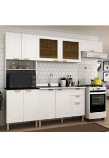 Cozinha Completa 4 Peã§As Americana Multimã³Veis 5677 Branco - Branco/Incolor - Dafiti