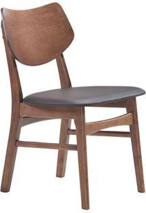 Cadeira Edna Nogueira E Preta