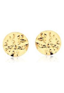 Brinco Le Diamond Círculo Dourado