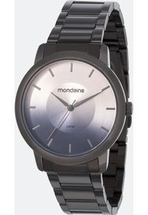 Kit Relógio Feminino Mondaine 53606Lpmvse9K Analógico 5Atm + Conjunto Semijóia