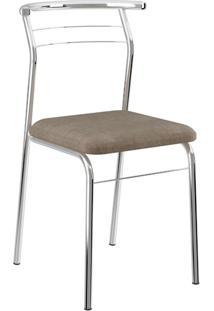 Cadeira Carraro 1708 Marrom 2 Cadeiras