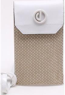 Bolsa Shoulder Bag Palha Bianco