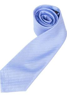 Gravata Azul Texturizada - Uni