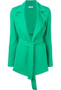 P.A.R.O.S.H. Jaqueta Com Cinto - Verde
