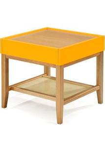 Mesa Lateral Duo - Amarelo - Tommy Design
