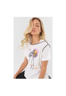 Camiseta Forum Tropical Off-White