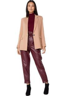 Calça Clochard Leather