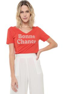 Camiseta Lez A Lez Bonne Chance Laranja