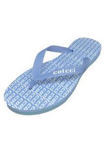 Sandália Colcci Colore Azul Feminino