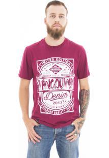 Camiseta Vancouver Limited Edition Bordô