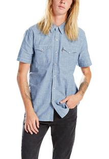 Camisa Jeans Levis Short Sleeve Classic Western - S
