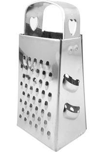 Mini Ralador De Inox 4 Faces 7,5Cm - 28123