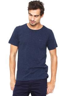 Camiseta Aramis Regular Fit Boslo Azul-Marinho