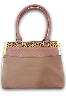 Bolsa Casual Sys Fashion 8527 Feminina - Feminino-Rosa