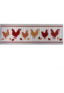 Tapete Cleankasa 40X120Cm Kitchen Chicken Kapazi
