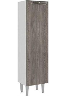 Armário Paneleiro Com 1 Porta 40X149Cm Cz700 Art In Móveis - Rústico