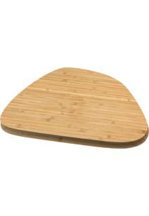 Tábua Irregular De Bambu 30Cm - Oikos