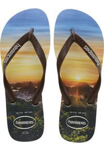 Sandálias Havaianas Hype Bege