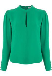 Nk Blusa Element Graca De Crepe - Verde