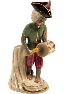 Escultura Decorativa De Porcelana Macaco Shrine