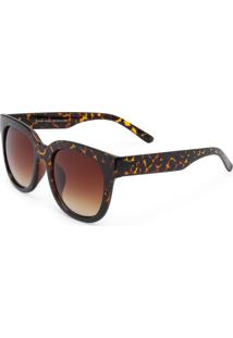 Óculos Ray Flector 283Co Marrom