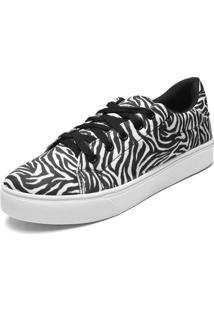 Tênis Fiveblu Zebra Preto