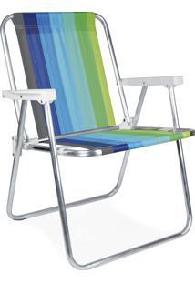 Cadeira Alta Alumínio 2219 Mor