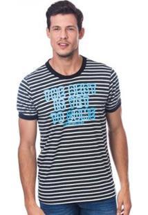 Camiseta Long Island Best Masculina - Masculino-Preto+Branco