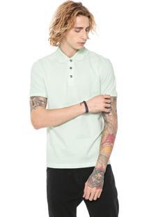 Camisa Polo John John Reta Basic Verde