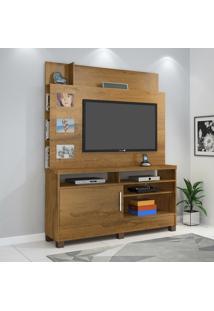 Estante Home P/ Tv Até 50 Pol Jcm Movelaria Aporé 1 Porta Nobre Soft