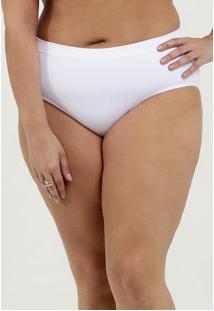 Calcinha Feminina Biquini Básica Plus Size Loba