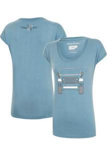Camiseta Fem. Jeep Wrangler Clean - Feminino