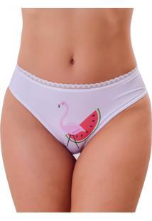 Calcinha Vip Lingerie Flamingo - Vermelho