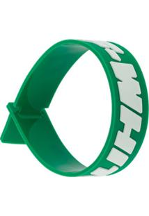 Off-White Pulseira Industrial - Verde