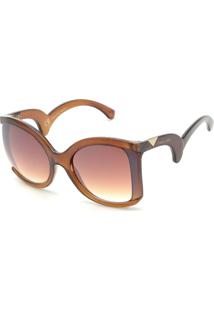 b0ef3ef13 Óculos De Sol Liso Marrom feminino | Gostei e agora?