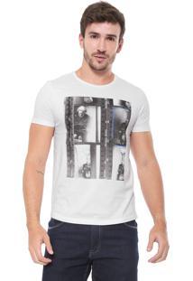 Camiseta Sergio K Queen Uk Branca