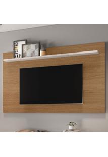 Painel Para Tv Até 70 Polegadas Enseada Natura Real/Off White - Colibri Móveis
