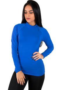 Blusa Térmica Diluxo Azul