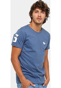 Camiseta Rg 518 Básica Bordada Masculina - Masculino
