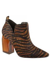 Bota Ankle Boot 80701 - Animale Savana